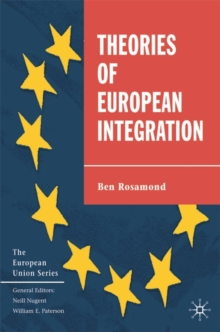 Theories of European Integration, Paperback Book