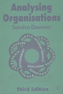 Analysing Organisations, Paperback Book