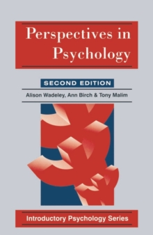 Perspectives in Psychology, Paperback Book