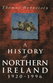 A History of Northern Ireland, 1920-96, Paperback / softback Book