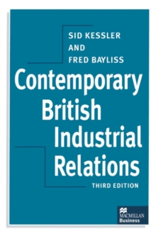 Contemporary British Industrial Relations, Paperback Book