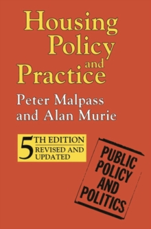Housing Policy and Practice, Paperback Book