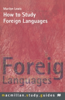 How to Study Foreign Languages, Paperback / softback Book