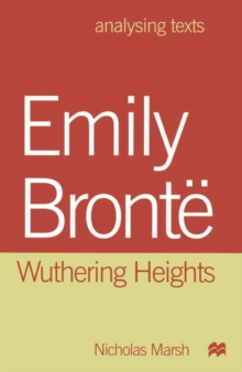"Emily Bronte : ""Wuthering Heights"", Paperback Book"