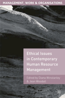Ethical Issues in Contemporary Human Resource Management, Paperback / softback Book