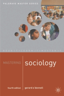 Mastering Sociology, Paperback Book