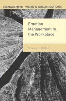 Emotion Management in the Workplace, Paperback / softback Book