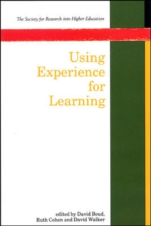 Using Experience for Learning, Paperback Book