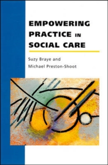Empowering Practice In Social Care, Paperback / softback Book