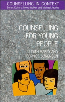 Counselling for Young People, Paperback Book