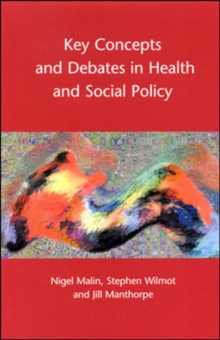 Key Concepts And Debates In Health And Social Policy, Paperback / softback Book