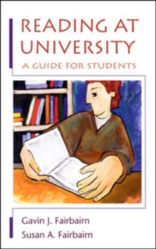 Reading at University : A Guide for Students, Paperback Book