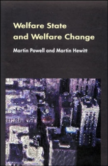 Welfare State And Welfare Change, Paperback / softback Book