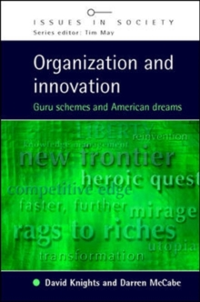 Organization and Innovation, Paperback / softback Book