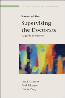 Supervising the Doctorate, Paperback / softback Book