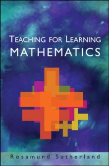 Teaching for Learning Mathematics, Paperback / softback Book