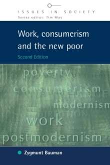 Work, Consumerism and the New Poor, Paperback / softback Book