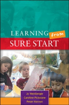 Learning from Sure Start, Paperback / softback Book