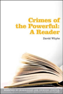 Crimes of the Powerful: A Reader : A Reader, Paperback / softback Book