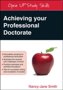 Achieving your Professional Doctorate, Paperback / softback Book