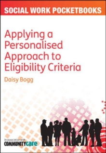 Applying a Personalised Approach to Eligibility Criteria, Paperback / softback Book