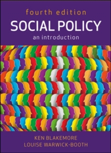 Social Policy: An Introduction, Paperback / softback Book