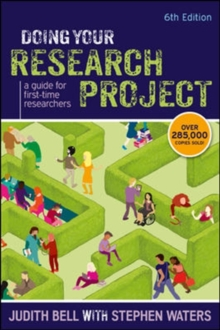 Doing Your Research Project: A Guide for First-time Researchers : A guide for first-time researchers, Paperback Book