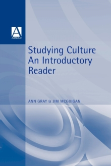 Studying Culture : An Introductory Reader, Paperback Book