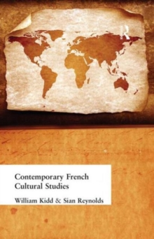 Contemporary French Cultural Studies, Paperback Book