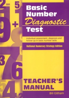 Basic Number Diagnostic Test Pk 10 : Individual Assessment, Diagnosis and Follow-Up in Basic Number Skills, Loose-leaf Book