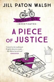 A Piece of Justice : Imogen Quy Book 2, Paperback Book