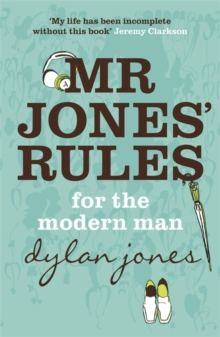 Mr Jones' Rules for the Modern Man, Paperback Book