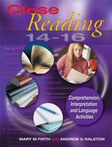 Close Reading 14-16, Paperback Book