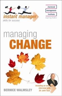 Instant Manager: Managing Change, Paperback / softback Book