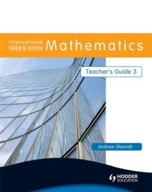 International Mathematics Teacher's Guide 3, Paperback / softback Book
