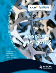OCR Design and Technology for GCSE : Resistant Materials, Paperback Book