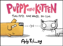 Puppy versus Kitten, Hardback Book