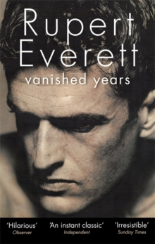 Vanished Years, Paperback Book