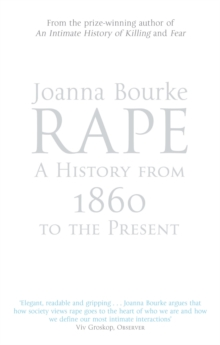 Rape: A History From 1860 To The Present, EPUB eBook