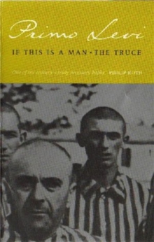 If This is a Man/The Truce, Paperback Book