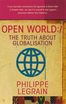 Open World : The Truth About Globalisation, Paperback Book