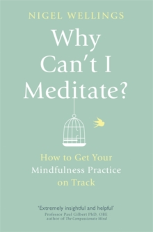 Why Can't I Meditate? : how to get your mindfulness practice on track, Paperback / softback Book