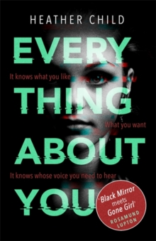 Everything About You : Discover this year's most cutting-edge thriller, Paperback / softback Book