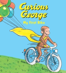 Curious George My First Bike (padded board book), Board book Book
