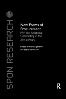 New Forms of Procurement : PPP and Relational Contracting in the 21st Century, Paperback / softback Book