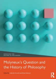 Molyneux's Question and the History of Philosophy, Hardback Book