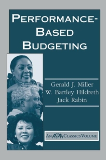 Performance Based Budgeting, Hardback Book