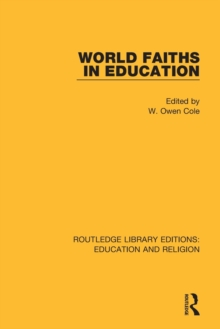 World Faiths in Education, Paperback / softback Book