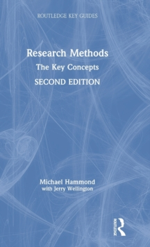 Research Methods : The Key Concepts, Hardback Book
