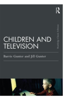 Children and Television, Paperback / softback Book